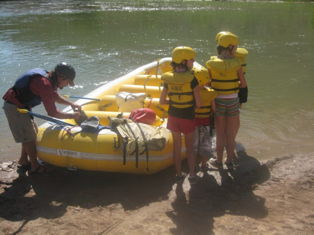 Whitewater Rafting in  Dinosaur National Monument