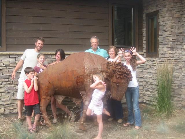 Visiting Aunt B.J. and Uncle Steve in Ogden, Utah