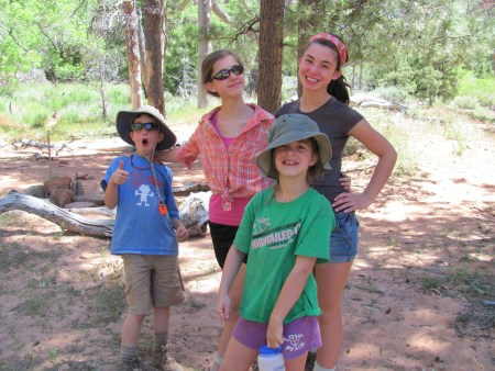Taking Kids Backpacking