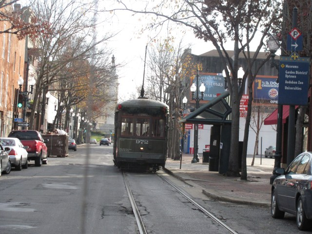 New Orleans With Kids: New Orleans Street Car