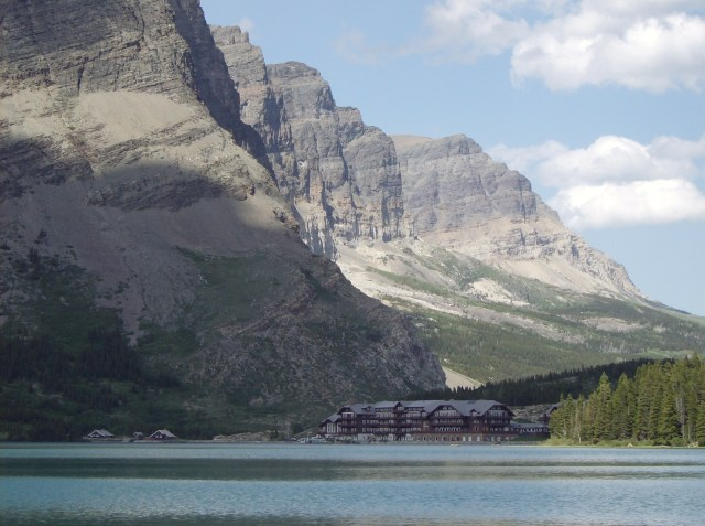 Views From Rowing From Many Glacier Hotel: Family Friendly Activities in Glacier National Park