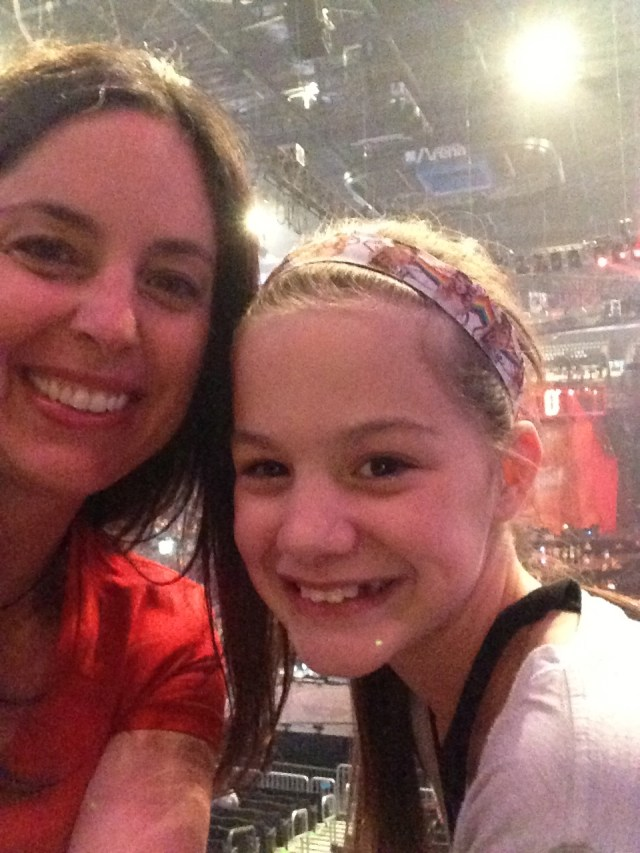 Maya and I at Taylor Swift Red Concert