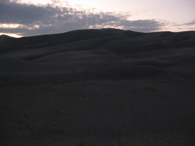 Evening Dune Climb At Great Sand Dunes National Park