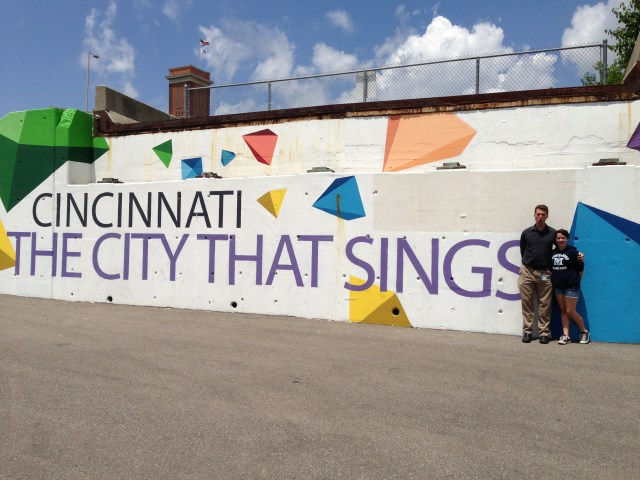 Cincinnati Welcome's our Family Singers!