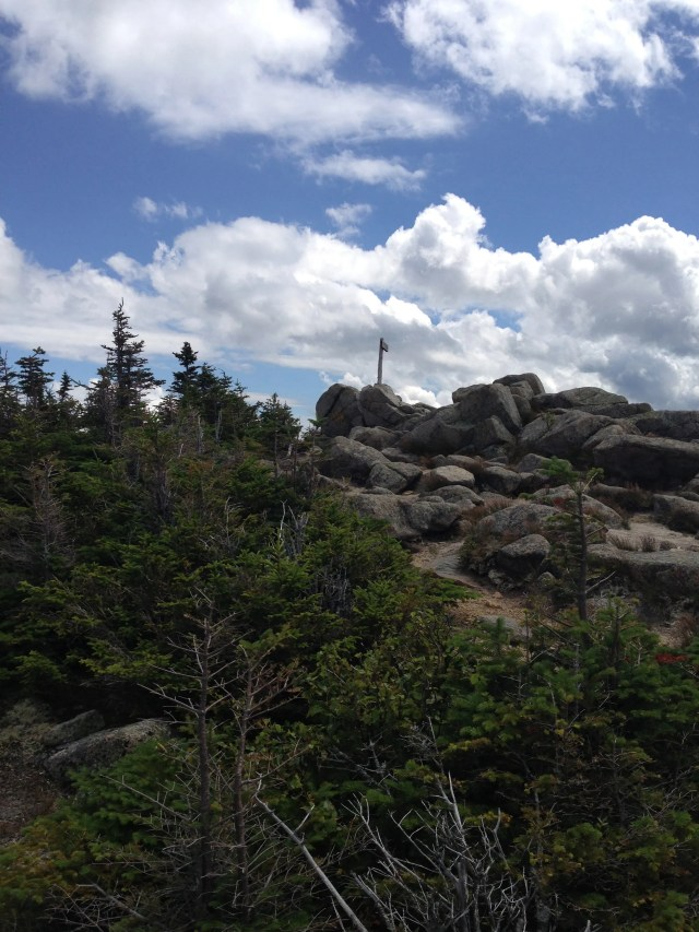 Climbing South Turner Mountain: Summit of South Turner Mountain Trail in Baxter State Park