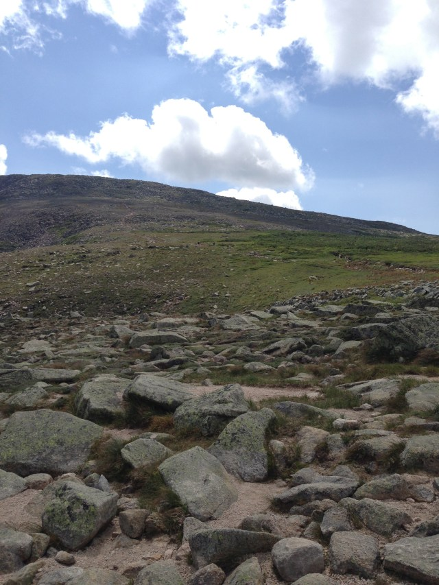 "Climbing Mt Katahdin: On the ""Saddle"" - Saddle Trail in Baxter State Park"