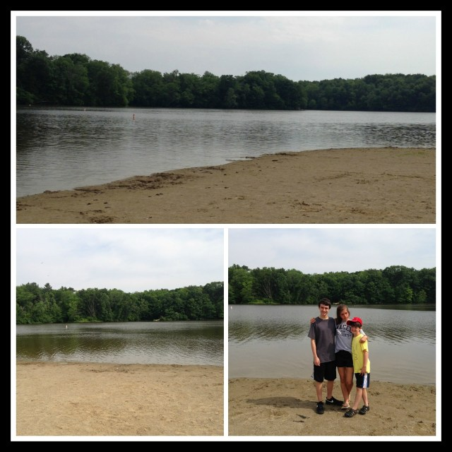 "The 'Beach"" at Stonelick State Park"