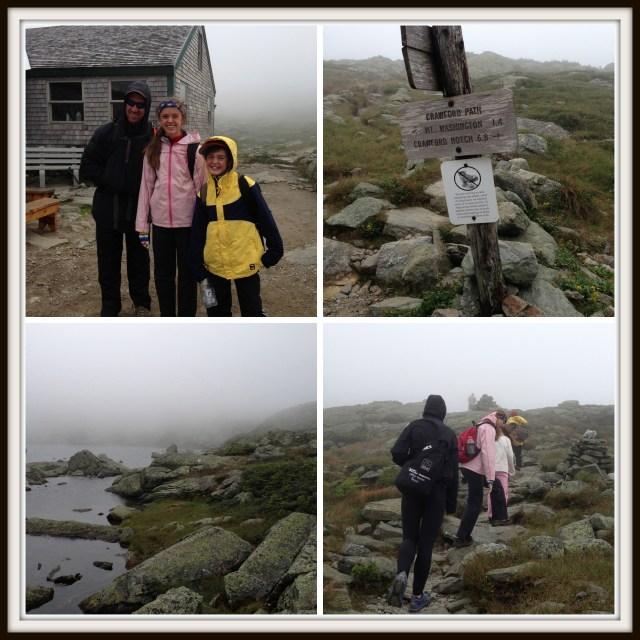 Climbing Mt. Washington with kids: Crawford Path