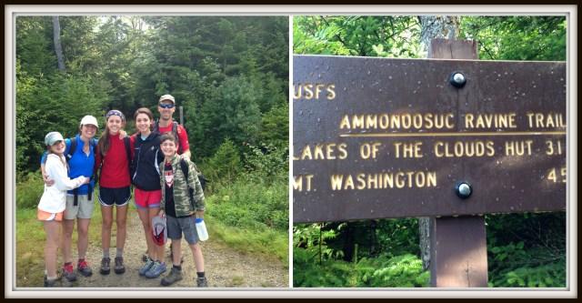 Climbing Mt. Washington