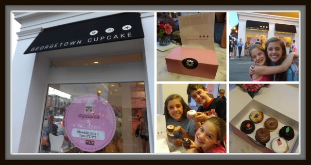 Washington DC in Only One Day: Georgetown Cupcake