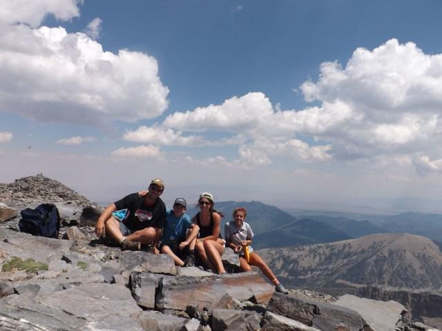 Great Basin National Park Hiking Wheeler Peak