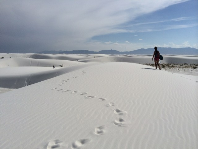 Backpacking White Sands National Monument