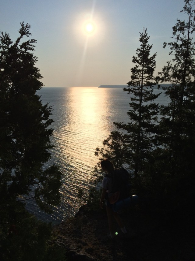 Backpacking Bruce Trail in Bruce Peninsula National Park