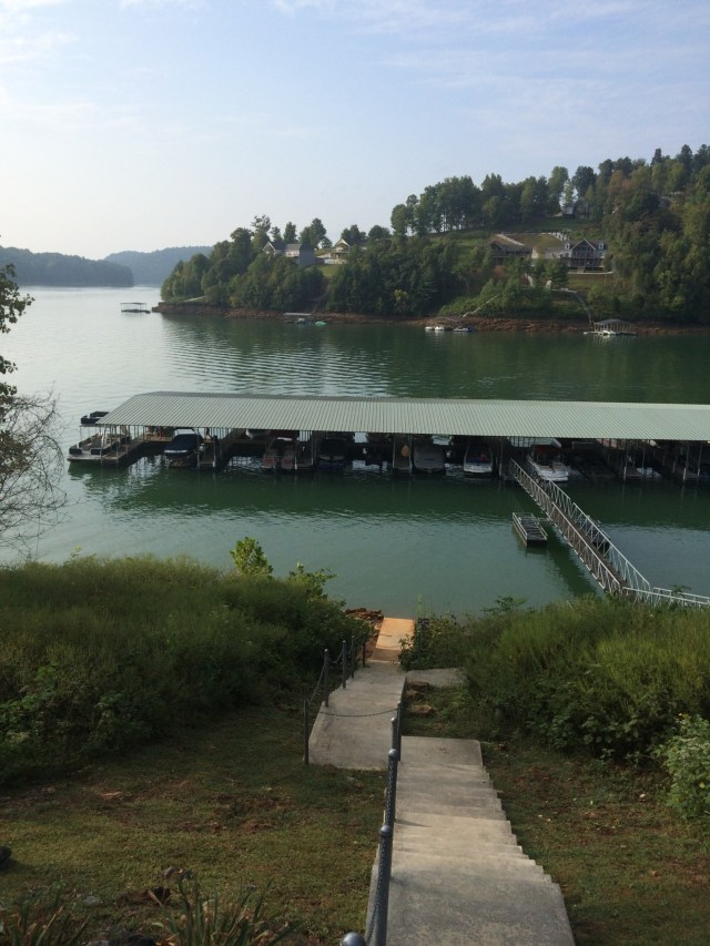 Shanghai Resort Condo Dock Norris Lake, Tennessee