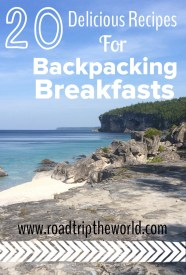 Backpacking Breakfasts