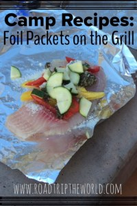 Foil Packets on the Grill