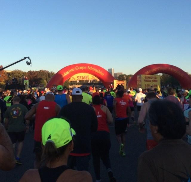 Marine Corps Marathon Start