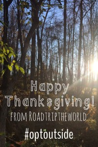 #optoutside Road Trip the World