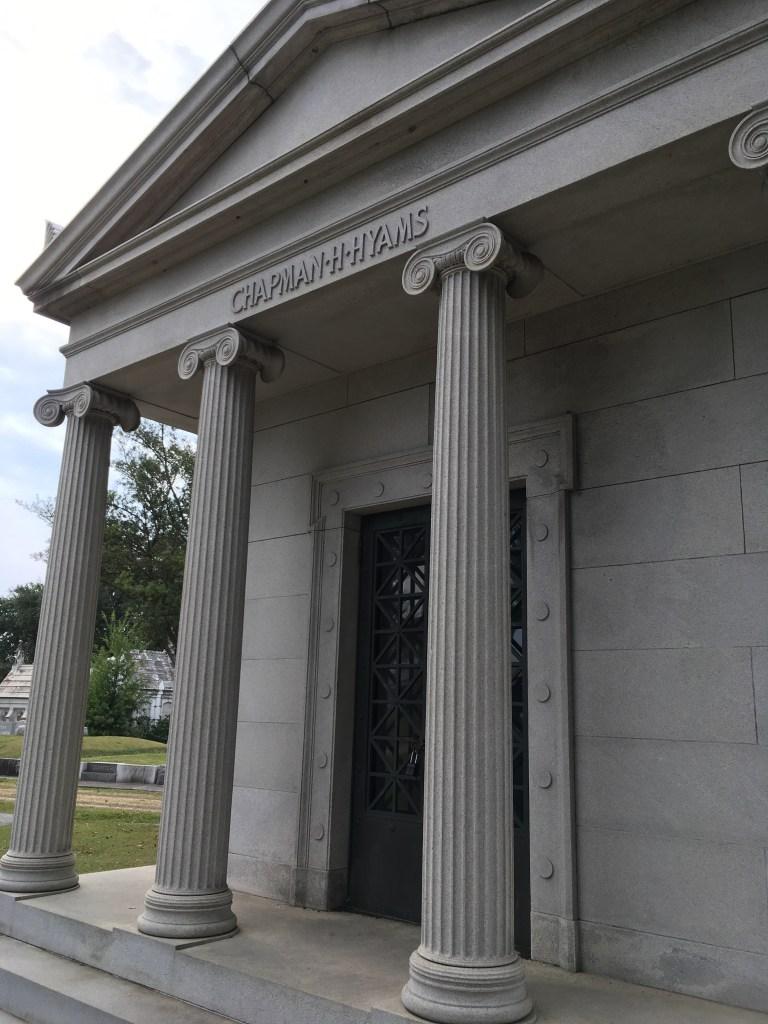Chapman Hyams Tomb Metairie Cemetery