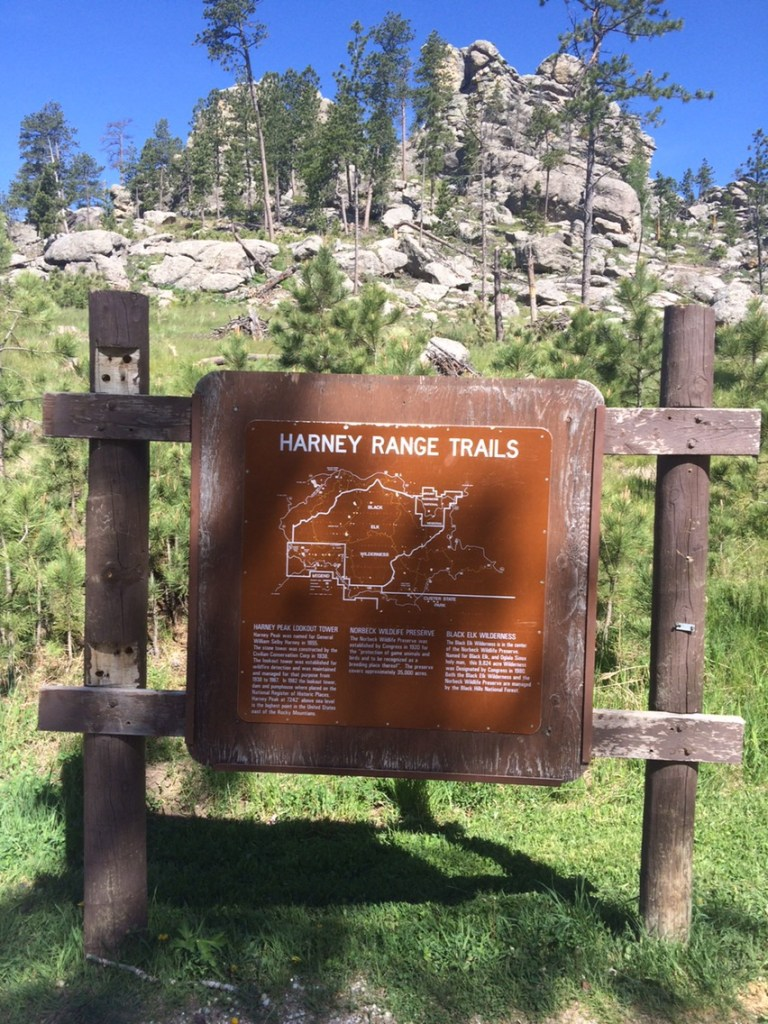 Trail 9 to Black Elk Peak