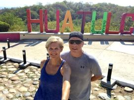 This Huatulco landmark is an easy, two kilometre walk from the Camino Real Zaashila. Credit: Therese Kehler, December 2016