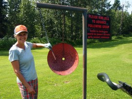 The many rolling hills at Elk Island Golf Course means there are three blind holes.