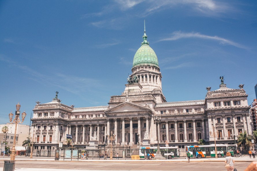 Government building in Buenos Aires
