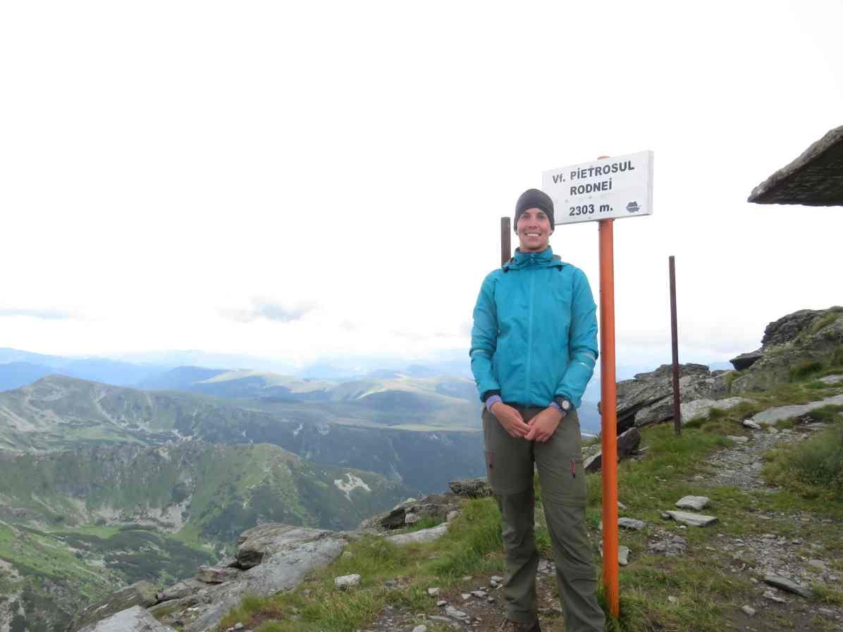At Pietrosul Peak