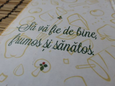 'Sa va fie de bine' is what Romanian waiters say after your meal. I think it translates into something like 'I hope it does you good.'