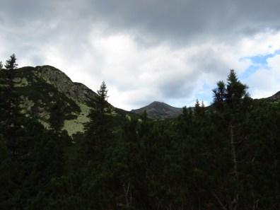 Bucura Peak appearing