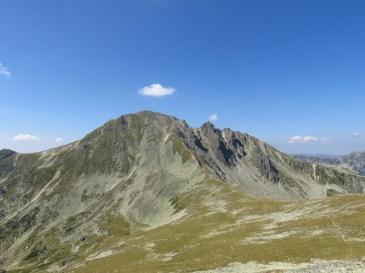 Towards Papuşa Peak