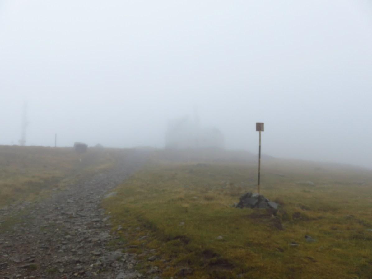 Countours of meteo station two on Tarcu Peak