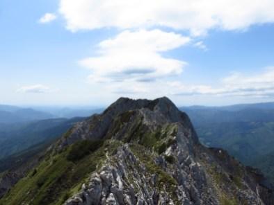 Piatra Craiului, southern ridge