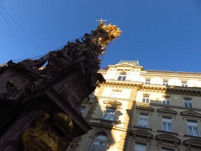 Vienna, statue on Graben