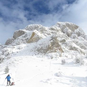 The Piatra Mica in winter