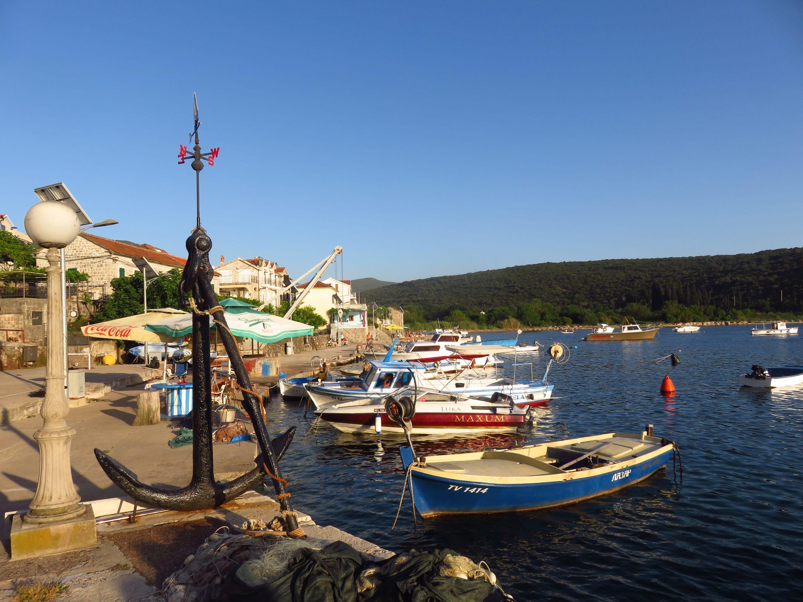 bigova bay montenegro