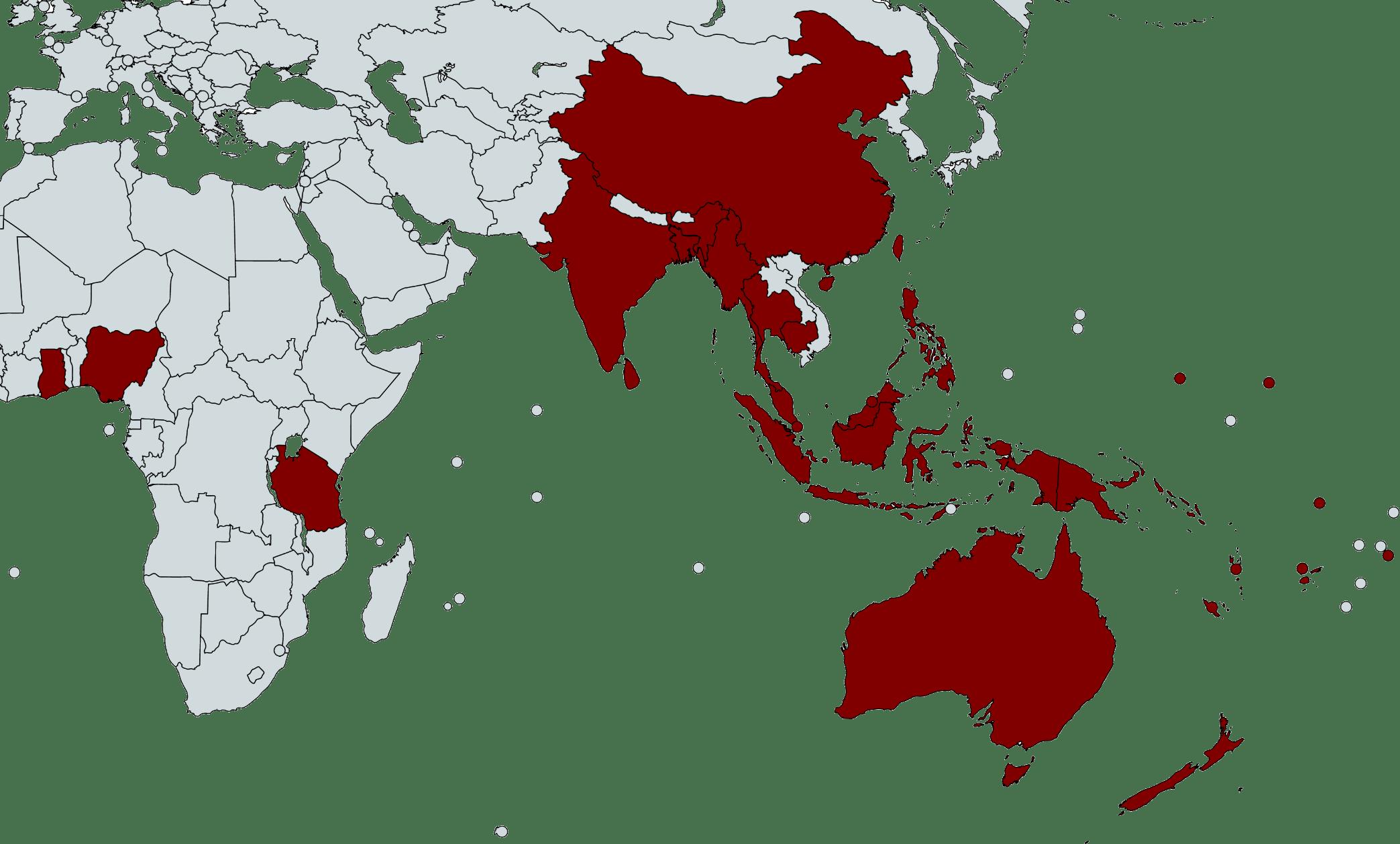Roam Australia Map