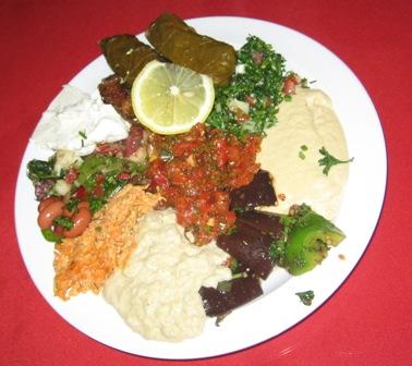 Cafe Agora Mezza Plate