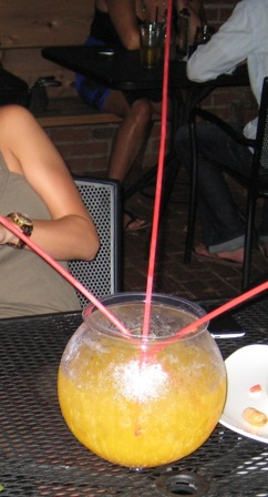 The Nook Fishbowl Drink