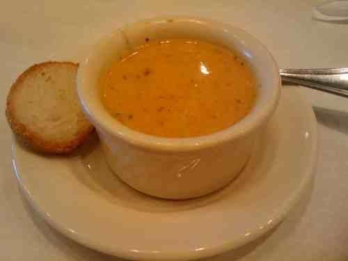 Cafe de Paris Lemon Artichoke Soup