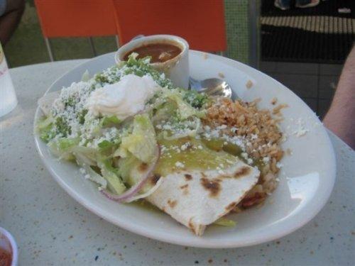 Pure Taqueria Chicken Burrito