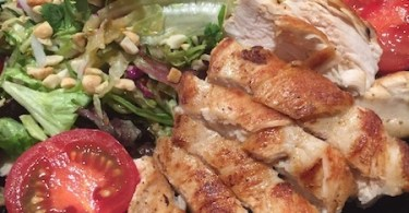 houston's grilled chicken salad recipe