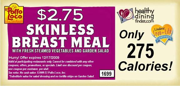Low Calorie Low Cost Chicken Meals Kfc Vs El Pollo Loco