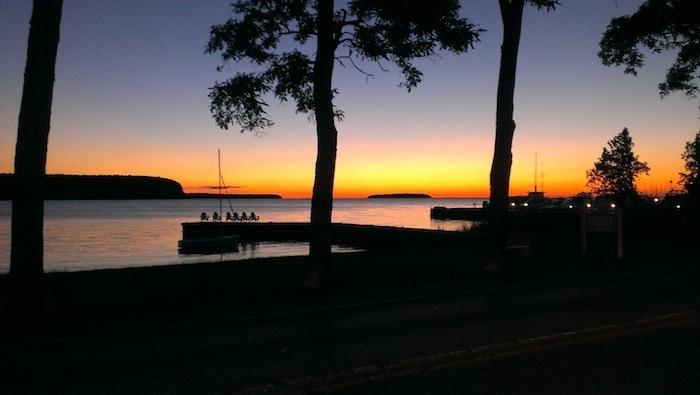 Door-county-WI-sunset