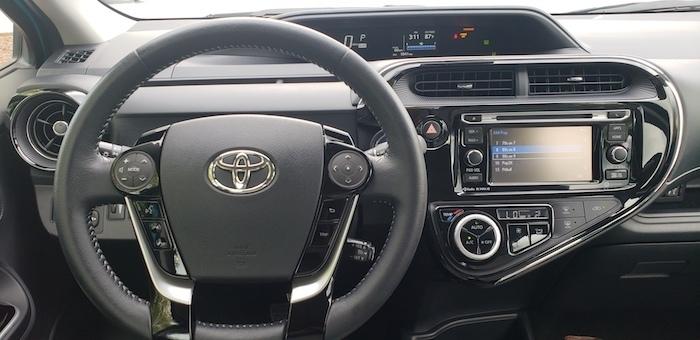toyota prius new infotainment navigation display