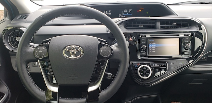 toyota prius new infotainment navigation display