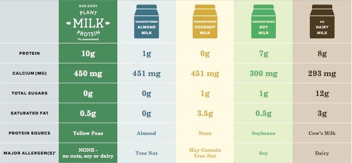 pea protein milk review
