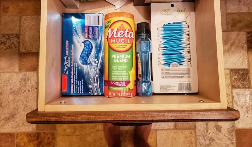 Metamucil is the secret to staying full