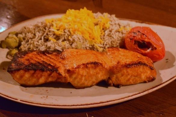 salmon at rumis kitchen - Rumis Kitchen Menu
