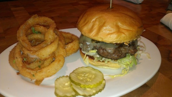 zinburger lenox atlanta restaurant review